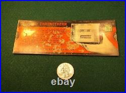 #3 of 19, VERY RARE 1940 PAPER SLIDE RULE THE NEW CHRONOTHERM HOME THERMOSTAT