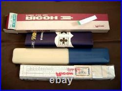 99 Showa Retro Slide Rule Ricoh No. 116 Bamboo Dead Junk