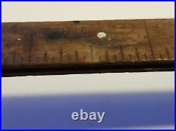 Antique Dahl Mfg. Co. Interlox Telescoping Master Wood Slide Rule New York City