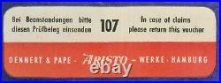 Aristo 10174 Nuclear Radiation Slide Rule. Nearly New! Echoes of the Cold War