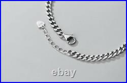 B18 Bracelet Abacus Slide Rule With Flat Armoured Chain Sterling Silver 925