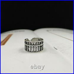 B32 Ring Abacus Slide Rule 999 Fine Silver