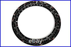 Bezel inserts for Seiko 6138-7000 slide rule calculator chronograph