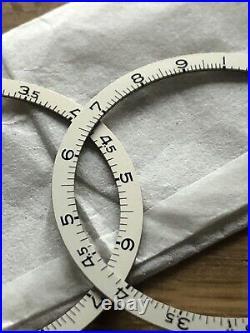 Breitling 769 808 bezel insert sliderule tachy ring