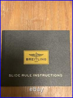 Breitling Slide Rule Instructions (No Tool)