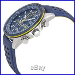 CITIZEN Blue Angels AT8020-03L World Chronograph Eco-Drive Mens Watch