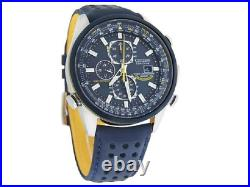 CITIZEN Blue Angels World Chronograph AT8020-03L Eco-Drive Mens Watch