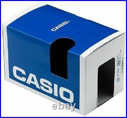 Casio MTP4500D-1AV, Silvertone Bracelet Watch, Date, 50 Meter, Chronograph