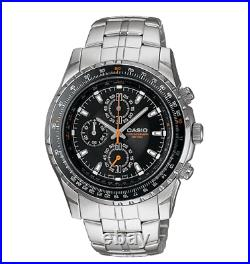 Casio Mens Stainless Steel Watch Chronograph 50 Meter WR MTP4500D-1TN
