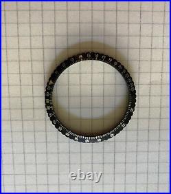 Chronosport Chronograph Military Pilot 38mm Slide Rule Bezel Lunette NOS