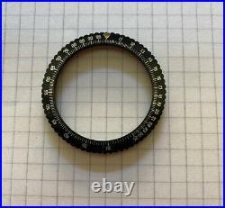 Chronosport Chronograph Military Pilot 39.10mm Slide Rule Flat Bezel Lunette NOS