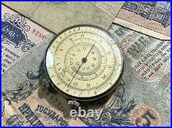 Circular slide rule USSR KL-1 Soviet calculator mathematics EXL