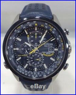 Citizen AT8020-03L Eco Drive Blue Angels World Chronograph Men's Watch