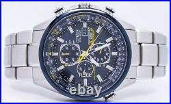 Citizen Eco Blue Angels Radio Controlled World AT8020-54L Men's Watch
