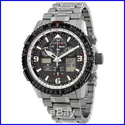 Citizen Promaster Skyhawk A-T Eco-Drive Stainless Steel Men's Watch JY8070-54E