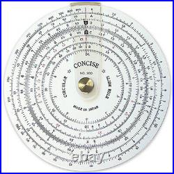 Concise Circular Slide Rule No. 300 made in japan
