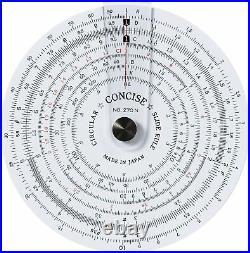 Concise ruler circular slide rule 270N 100812