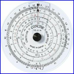 Concise ruler circular slide rule 27N