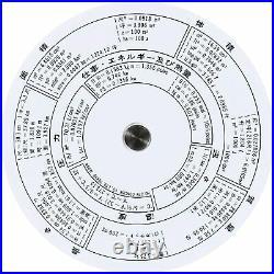 Concise ruler circular slide rule 27N 100805
