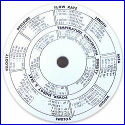 Concise ruler circular slide rule 28N 100973 English Ver