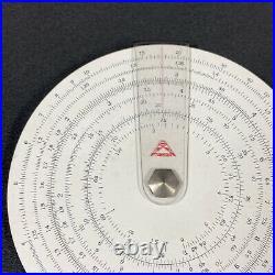 Concise ruler circular slide rule 300 in Original Sleeve Mint