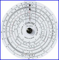 Concise ruler circular slide rule NO. 270N 100812 F/S