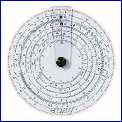 Concise ruler circular slide rule dates of 480 100836