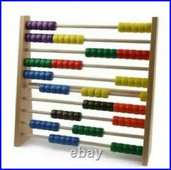 Counting 100, 44 x 43 X 8 CM New Slide Rule Abacus Math