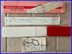 Fuji Slide Rule Measuring (Tape Measure) Temperature, Sag, & Tension Change