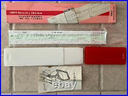 Fuji Tape Measure Slide Rule Deals with Temperature, Sag, & Tension Changes