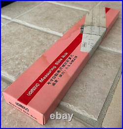 Fuji Yamayo Measuring Slide Rule For Tape Measures Temp, Sag, Tension Change