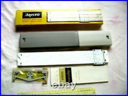 GERMANY Slide Rule ARISTO STUDIO 0968 with Original Content in Box
