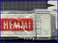 Hemmi No. 266 Electronics Slide Rule. Duplex. 24 Scales. Bamboo. New