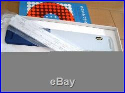 Hemmi No. P403 NEWINCASE Slide Rule Bamboo Duplex Scales rare FAST SHIP N2