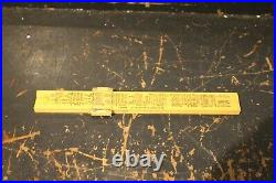 K + E Slide Rule Keuffel & Esser Co. New York with Box 4058 C