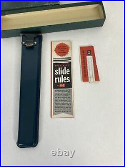 Keuffel & Esser Polyphase Slide Rule N4053-3 With Case & Manual NEW Mint