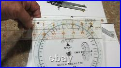 NEW Weems & Plath Divider, #139 parallel ruler, #105 nautical slide rule + extras