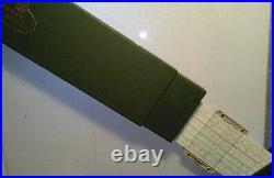 NEW original German Faber Castell Novo Duplex slide rule 2/83N with case