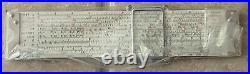 NIB Post Hemmi 1461 Versalog II Pocket Slide Rule June 1972 24 Scales New