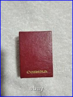NIB Rare Corona Renown Slide Rule Lighter with box and instructions