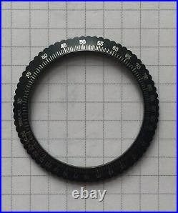 NOS Chronosport Chronograph Military Pilot 39.10mm Slide Rule Bezel Lunette