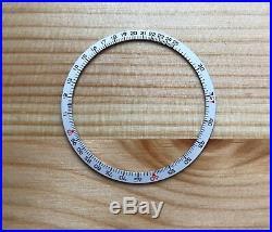 NOS Original Slide Rule Dial Bezel Insert Breitling Navitimer 806 809 7806 8806