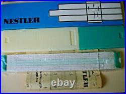 Nestler Polymath Duplex Slide Rule Box Manual Germany New
