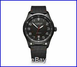 New Victorinox Swiss Army AirBoss Mechanical Black Dial Men's Watch 241720