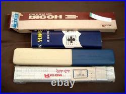 Obsolete Showa Retro Slide Rule Ricoh No. 105 Bamboo Dead Junk