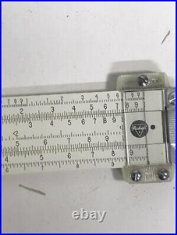 POCKET SLIDE RULE PICKETT Model 200 & 200-T ORIGINAL BOX AND INSTRUCTIONS 1 New