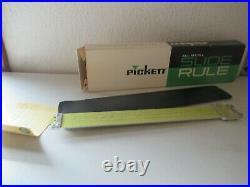 Pickett All Metal Slide Rule NEW in box 902-ES