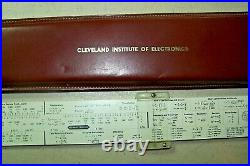 Pickett Electronic Mod. N-515-T New Condition Slide Rule With Case 1960s