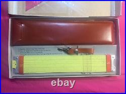 Pickett Model N 3 ES Slide Rule with Original Box, Case, and Manuals