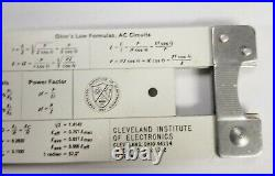 Pickett N-515-T Slide Rule Cleveland Institute of Electronics USA Made, Unused